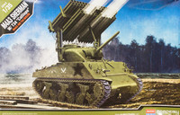 Academy 1/35 M4A3 Sherman W/Calliope Scale Model Kit