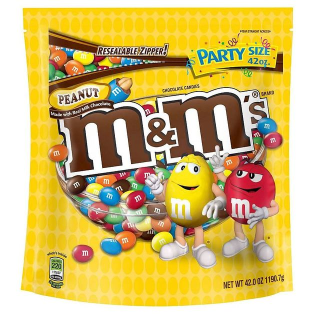 M&M's Peanut Party Bag (1.19kg)