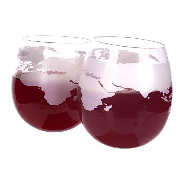 Mixology Globe Rocker Glasses (320ml) (Set of 2)
