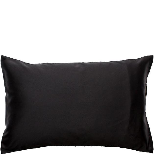 Simply Essential Satin Pillow Slip - Black