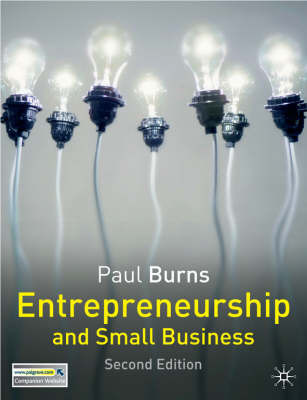 Entrepreneurship and Small Business by Paul Burns image