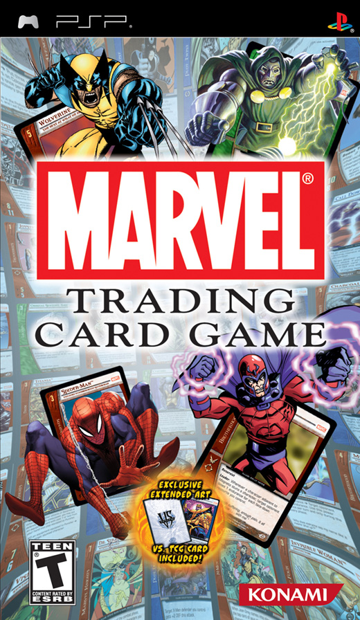 Marvel Trading Card Game for PSP image