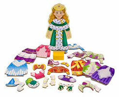 Melissa & Doug: Princess Elise Magnetic Wooden Dress-Up