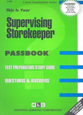 Supervising Storekeeper