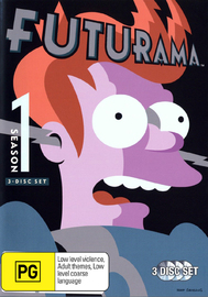 Futurama - Season 1 (3 Disc Box Set) on DVD image