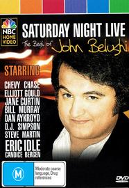 Saturday Night Live: The Best Of John Belushi on DVD