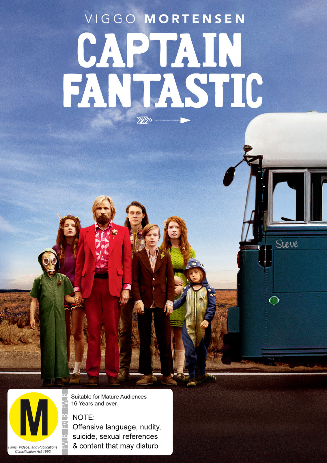 Captain Fantastic on DVD image