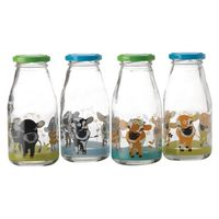 Maxwell & Williams - Cosmopolitan Colours: 4 Piece Bottle Set - Cow (250ML)