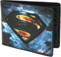 Man Of Steel: Chromium Print - Bi-fold Wallet
