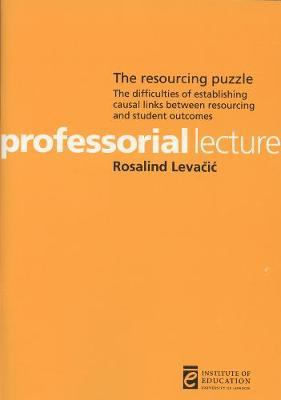 The Resourcing Puzzle by Rosalind Levacic image