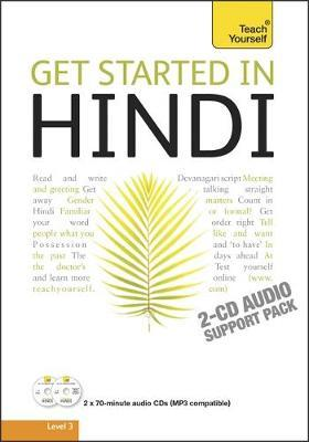 Get Started in Hindi: Teach Yourself: Audio Support by Rupert Snell image