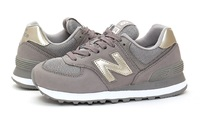 New Balance: Womens 574 Running Shoes - Grey (Size US 6)
