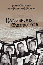 Dangerous Characters by Elaine Hatfield