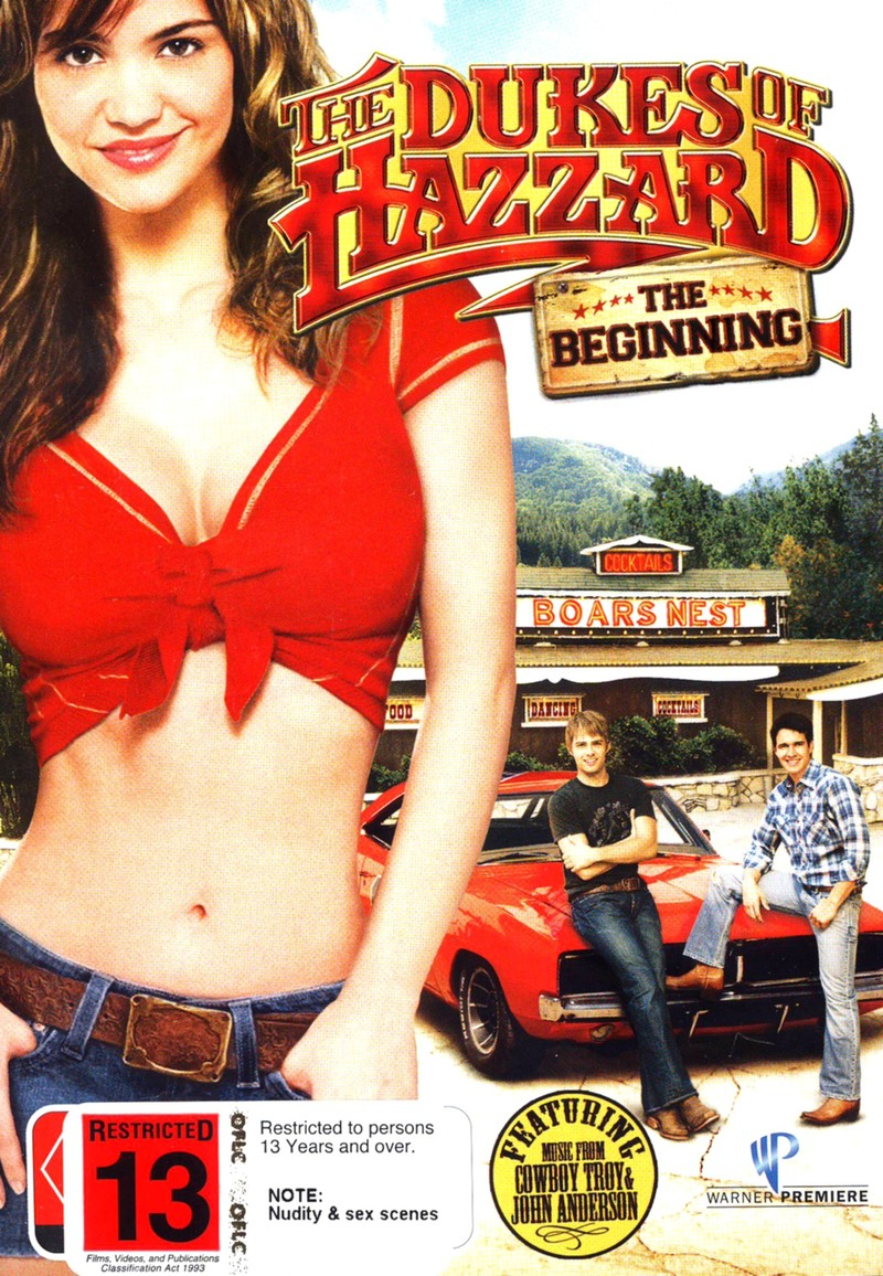 Dukes Of Hazzard, The - The Beginning on DVD image