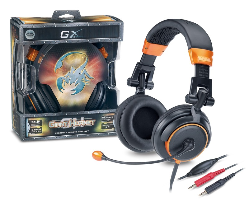 Genius GX Giant Hornet Gaming Headset for PC Games image