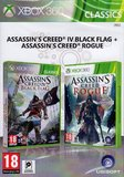 Assassin's Creed IV Black Flag & Assassin's Creed Rogue Double Pack for Xbox 360