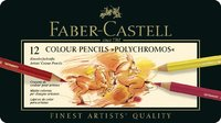 Faber-Castell : Polychromos Pencil Tin of 12