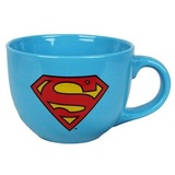 Superman Shield Logo - Soup Mug