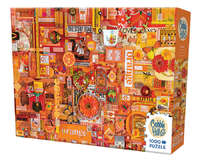 Cobble Hill: The Rainbow Project (Orange) - 1000pc Puzzle