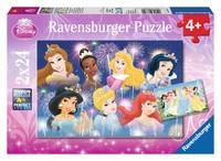 Ravensburger : Disney Princess Gathering Puz 2x24pc
