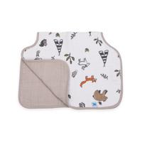 Little Unicorn - Muslin Burp Cloth - Forest Friends
