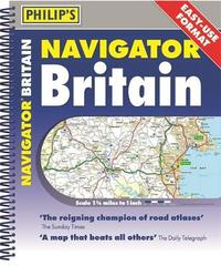 Philip's 2020 Navigator Britain Easy Use Format by Philip's Maps and Atlases