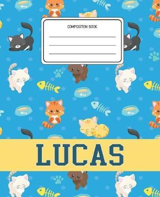Composition Book Lucas by Cats Composition Books image