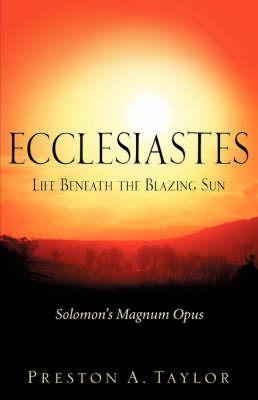 Ecclesiastes by Preston A. Taylor image