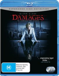 Damages - Complete Season 1 (3 Disc Set) on Blu-ray