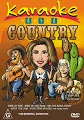 Karaoke - Country on DVD
