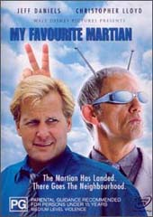 My Favourite Martian on DVD