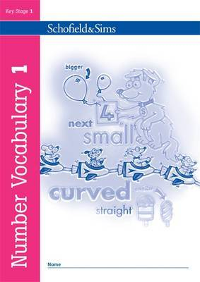 Number Vocabulary Book 1 by Sally Johnson image