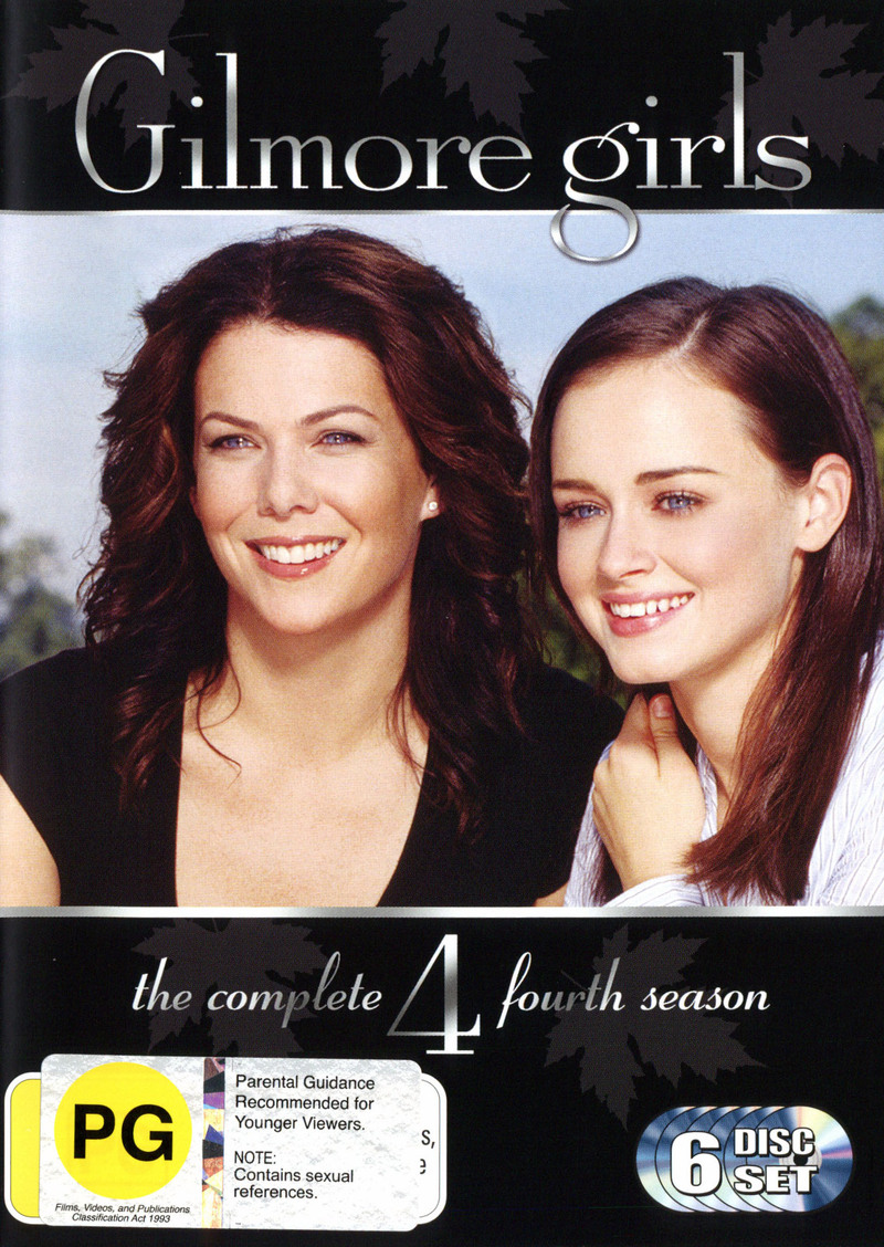 Gilmore Girls - The Complete Fourth Season (6 Disc) (New Packaging) on DVD image