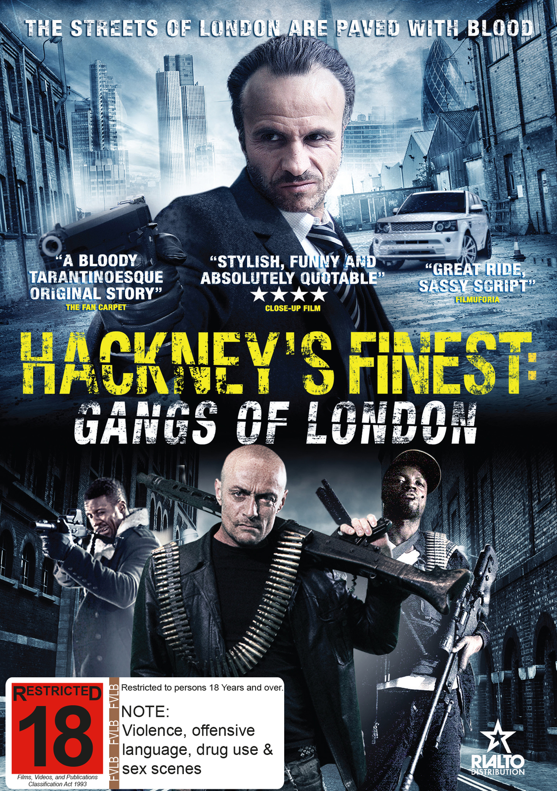Hackney's Finest on DVD image