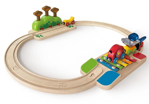 Hape: My Little Railway Set