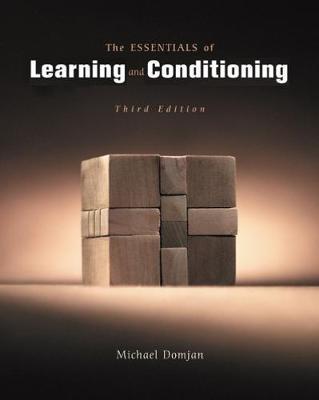 The Essentials of Learning and Conditioning by Michael Domjan