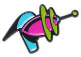 Sourpuss: Kustom Kreeps - Raygun Enamel Pin
