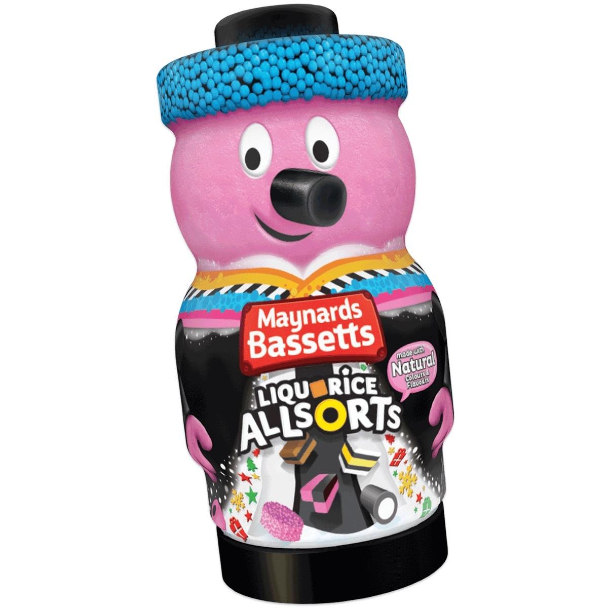 Bassetts Liquorice Allsorts Character Jar (495g) image