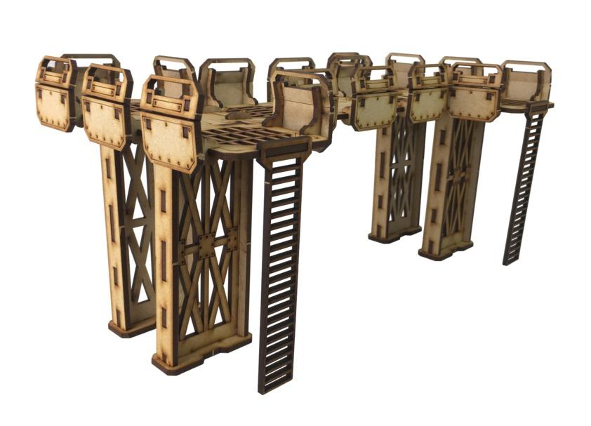 TTCombat: Tabletop Scenics – Sector 1 Walkways image
