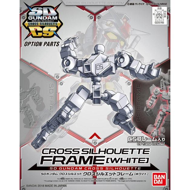 SD Cross Silhouette Frame [White] - Model Kit