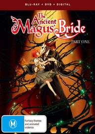 The Ancient Magus Bride - Part 1 on DVD, Blu-ray image