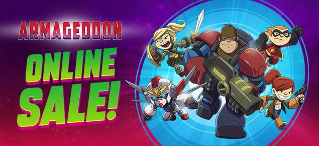 Armageddon Online Sale!