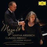 Mozart: Piano Concertos K 503 & K 466 by Martha Argerich