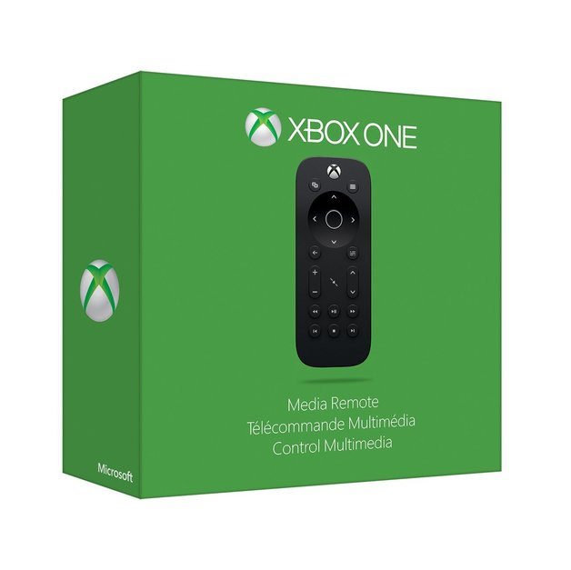 Official Microsoft Xbox One Media Remote     Buy Now   at Mighty Ape