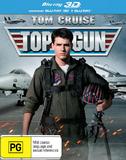 Top Gun on Blu-ray, 3D Blu-ray