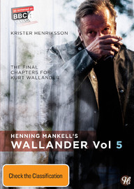 Wallander - Volume 5 on DVD