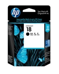 HP 18 Ink Cartridge C4936A (Black) image