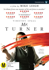Mr. Turner on DVD