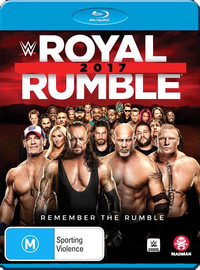 WWE: Royal Rumble 2017 (Limited Edition) on Blu-ray