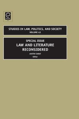 Law and Literature Reconsidered image